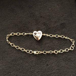 Jewelry - I love ❤️my Cat ankle bracelet